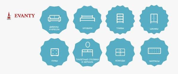 Каталог интернет-магазина мебели